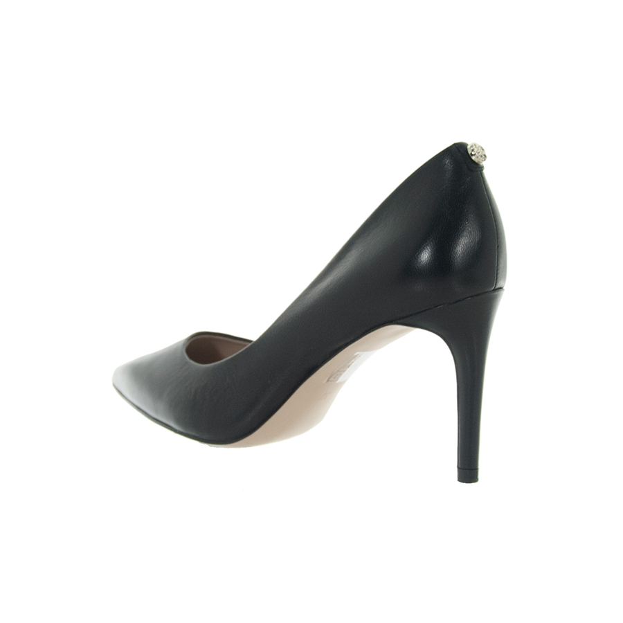 Dettagli su GUESS SCARPE DONNA DECOLLETE A PUNTA BENNIE IN PELLE BLACK FLBE74LEA08