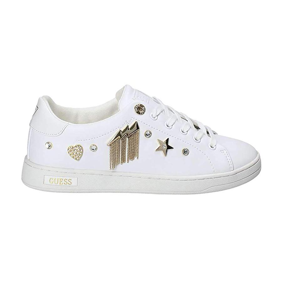 online retailer e8f21 b923e Sneaker Scarpe Cight White Guess Donna Active Ebay ...