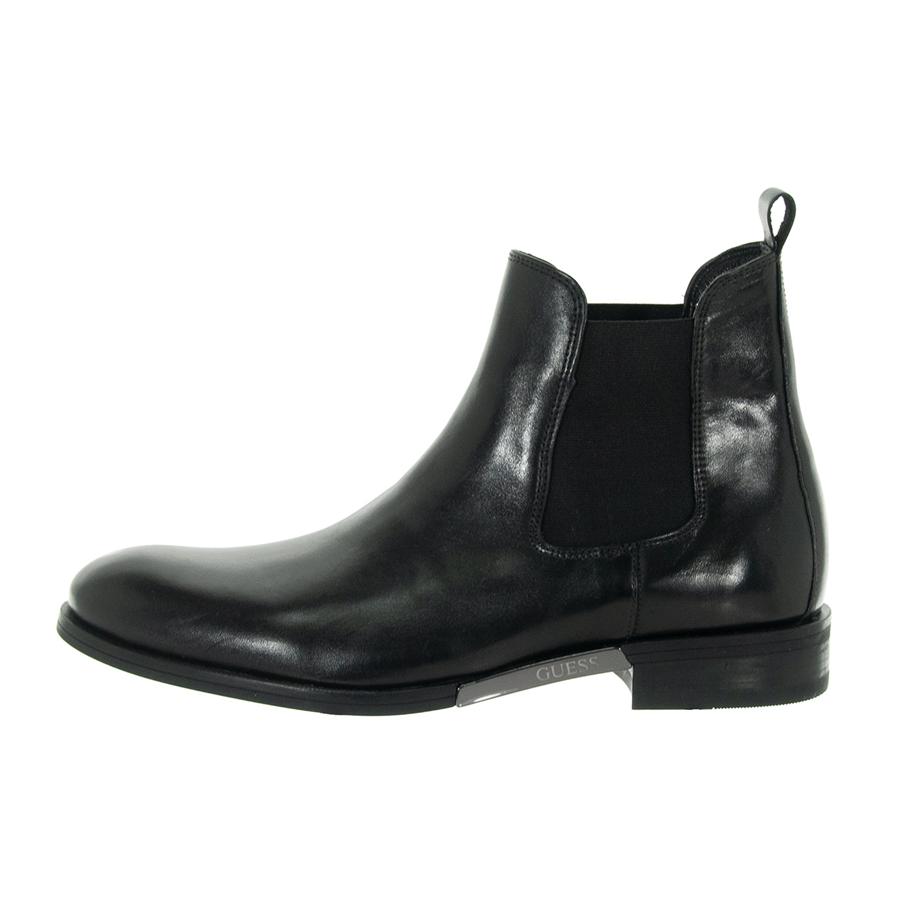 Details about GUESS man shoes boots Bowden Leather Black FD 8 bowlea 10 show original title